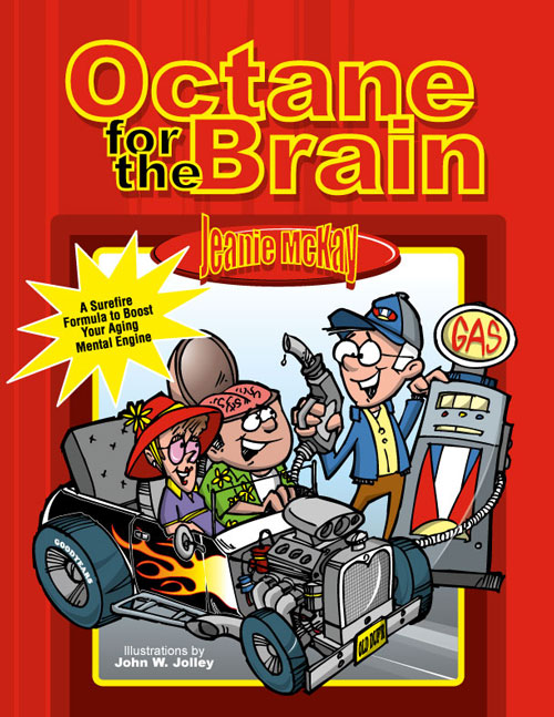The front cover of the Octane For The Brain book